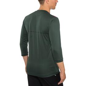 ION Scrub AMP Longsleeve Shirt 3/4 rits Heren, green seek